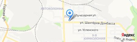 Отделение связи №60 на карте Донецка