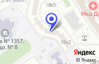 Схема проезда до компании МЕБЕЛЬНЫЙ МАГАЗИН НОРТЭКС в Москве