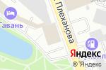 Схема проезда до компании Abercrombie & Fitch в Москве