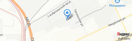 Топаз Империал на карте Москвы
