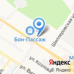 Арсенал на карте Новороссийска