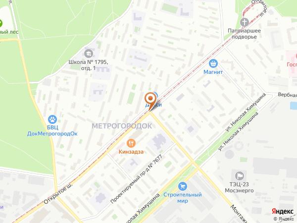 Остановка «Монтажная ул.», Открытое шоссе (3947) (Москва)