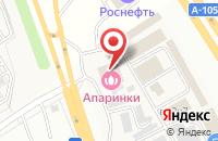 Схема проезда до компании QIWI в Апаринках