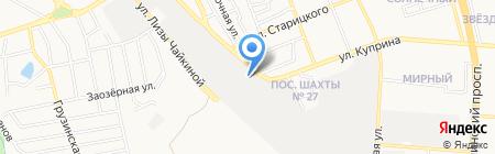 Масик на карте Донецка