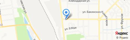 Борды Украины Медиа на карте Донецка