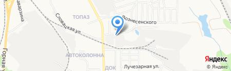 Альянс на карте Донецка