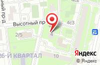 Схема проезда до компании Дживдорстрой в Москве