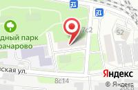 Схема проезда до компании Арбат-Экспо в Москве