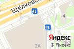Схема проезда до компании Galaxy Ingredients в Москве