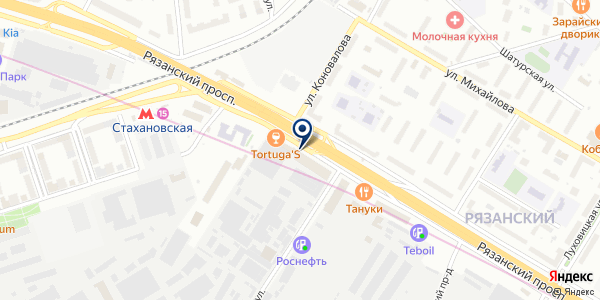 Хайкшоп на карте Москве