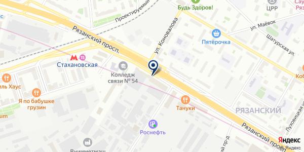 УбираемВсё на карте Москве