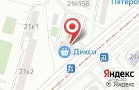 Схема проезда до компании Индика в Москве