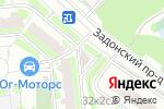 Схема проезда до компании Меркурий в Москве