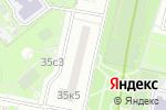 Схема проезда до компании Агапе плюс в Москве