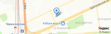 Интер Строй-М на карте Москвы