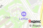 Схема проезда до компании Авто-Торг в Москве