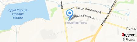 Донецкая общеобразовательная школа I-III ступеней №39 на карте Донецка