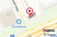 Схема проезда до компании Шанс в Москве