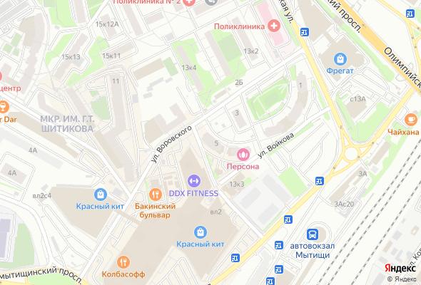 продажа квартир Дом в Мытищах на ул. Воровского