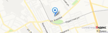 Наутилус на карте Донецка