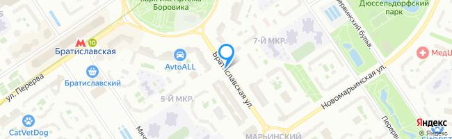 Братиславская улица