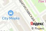 Схема проезда до компании Дана в Москве