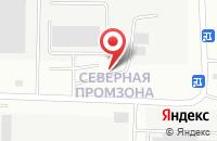 Схема проезда до компании Техносерв-Принт Центр в Балашихе