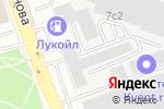 Схема проезда до компании ЕвроСинтез в Москве