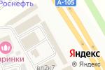 Схема проезда до компании Магазин теплоизоляционных материалов в Апаринках