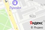 Схема проезда до компании Палисандр в Москве