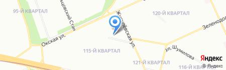 Разные дети на карте Москвы
