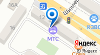 Компания МТС на карте