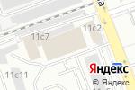 Схема проезда до компании ДорИнжПрибор в Москве