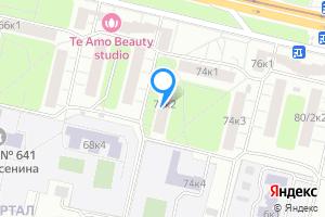 Сдается комната в Москве м. Кузьминки, Волгоградский проспект, 74к2
