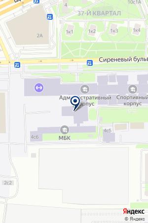 ОБЩЕСТВЕННО-КУЛЬТУРНЫЙ ЦЕНТР ВЫСШАЯ ШКОЛА ТРЕНЕРОВ РОССИЙСКОЙ ГОСУДАРСТВЕННОЙ АКАДЕМИИ ФИЗИЧЕСКОЙ КУЛЬТУРЫ на карте Москвы