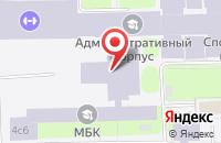 Схема проезда до компании Научно-Издательский Центр «Физическая Реабилитация и Фитнес» в Москве