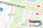 Схема проезда до компании Цветочная база в Москве