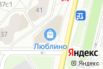 Схема проезда до компании Золушка в Москве