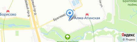 Средняя общеобразовательная школа №1034 с дошкольным отделением на карте Москвы
