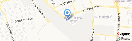 Системы Контроля и Безопасности на карте Донецка