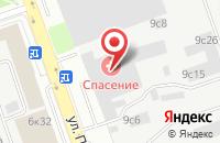 Схема проезда до компании Инфософт в Москве