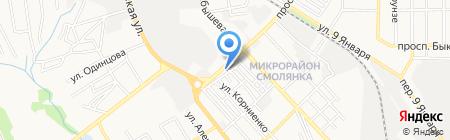 Э.Л.В.И.С на карте Донецка