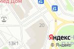 Схема проезда до компании КБ Развитие в Москве
