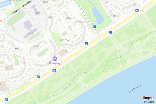 Ремонт телевизоров Улица Поречная на яндекс карте