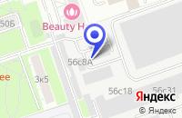 Схема проезда до компании NAILICO в Москве