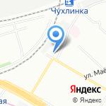 Платежный терминал на карте Москвы