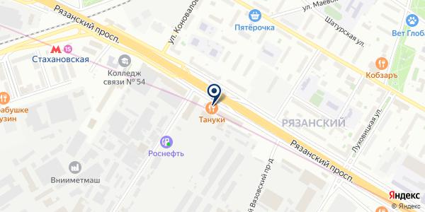 Эдельвейс М на карте Москве