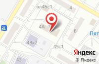 Схема проезда до компании Арбат Стройсервис в Москве