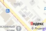 Схема проезда до компании Ако сервис в Донецке