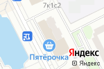 Схема проезда до компании КРОК-Н в Москве